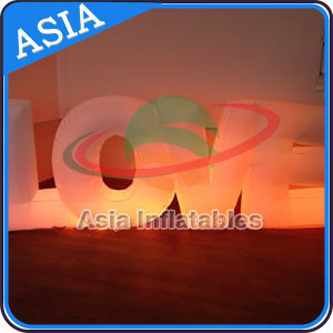 Customized LED Inflatable Letter Alphabet Inflatable Love Letter pictures & photos