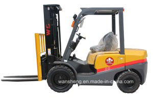 Factory Supply Price 3.5t Diesel Forklift Truck / 3500kg Forklift with High-Quality pictures & photos