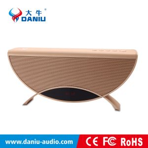 2017 New Wireless Desktop Colorful LED Display Multifunctional HiFi Creative Bluetooth Speaker