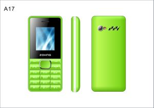Factory Cheapest Mobile Phone 1.8 Inch Dual SIM Dual Standby Feature GSM Phone A17 pictures & photos