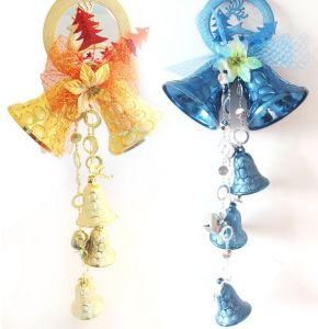 OEM Colorful Christmas Jingle Bell Wind Chime for Hang Decoration pictures & photos