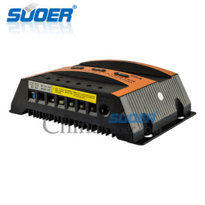 Suoer 48V 60A Solar Panel Solar Charge Controller (ST-C4860) pictures & photos