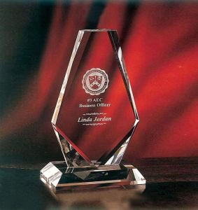 Free Logo Customized Acrylic Trophy Crystal Awards pictures & photos