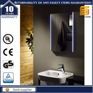 Certificated Wall Mounted Hotel Bathroom LED Backlit Lighted Mirror pictures & photos