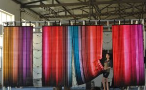 P25 Indoor Flexible Cloth LED Screen for Stage pictures & photos