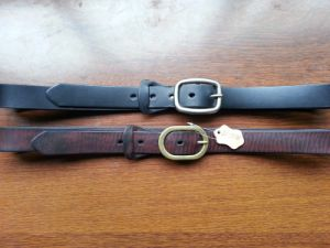 Wholesale Custom Logo Full Grain Leather Belt for Man (RS3218) pictures & photos