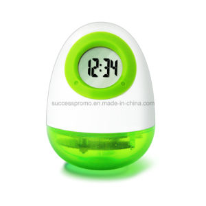 Custom Water Powered Clock in Egg-Shaped pictures & photos