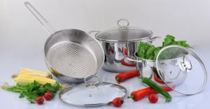 Stainless Steel Cookware Set-6PCS pictures & photos