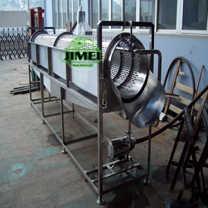 Industrial High Pressure Carrot Root Vegetable Drum Rotation Washer pictures & photos