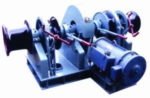 Marine Hydraulic Anchor Windlass with Double Cable Lifters for Boat pictures & photos