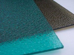 Customized Embossed Polycarbonate Solid Sheet for Indoor Decoration pictures & photos