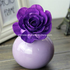 Colored Rose Oil Diffuser Sola Wood Flower (SF092) pictures & photos