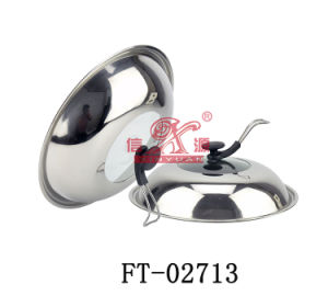 Stainless Steel Visible Pot Lid (FT-02713)