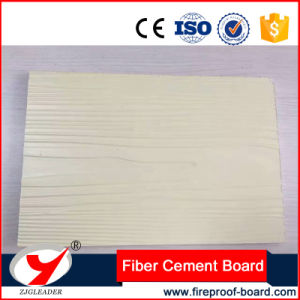 Wood Grain Colorful Fire Rated Fiber Cement Board pictures & photos