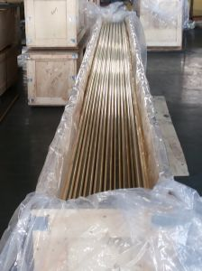 Brass Copper ASTM B111 UNS C44300UNS C68700, UNS C45020, UNS C45010 Tubes Pipes Tubing Pipings for condenser, heat-exchangers pictures & photos