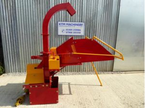 Wood Chipper Wc-8, CE Approval, Cheap Chipper, Pto Driven pictures & photos