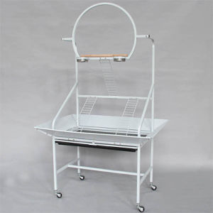 Pet Stand Bird Perch Bird Cage Pet Cage Shelf The Parrot Cage pictures & photos