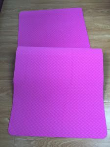Beautiful TPE Yoga Mats Custom Yoga Mat Material pictures & photos