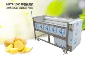 Mstp-1000 Brush Type Potato Washing Peeling Machine Carrot Washer Cassava Peeler pictures & photos