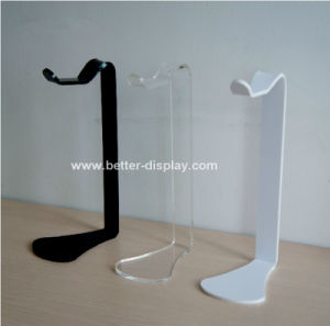 Black Acrlic Headphone Stand Btr-C6011 pictures & photos