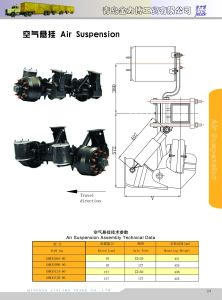 Suspension System Air Suspension Used for Trailer pictures & photos