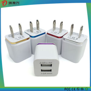 2016 Factory Price 2 USB Mobile Phone Charger Adaptor pictures & photos