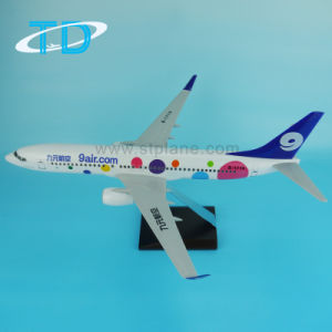 "Logo ""9air. COM"" Miniatures Plane Blue Boeing 737-800 pictures & photos"