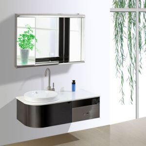 High Quality Modern Design Bathroom Mirror Cabinet 7006 pictures & photos