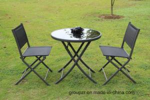 Garden Furniture Folding Textilene Chair pictures & photos