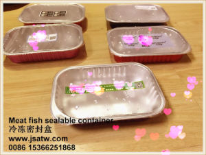 Heat Sealing Airtight Disposable Aluminum Foil Food Catering Trays pictures & photos