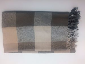 Men and Women Scarf Plaid Pure Winter pictures & photos