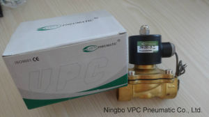 """110V AC or 12V DC Electric Solenoid Valve Water Air Gas, Fuels N/C - 1/2"""" pictures & photos"""