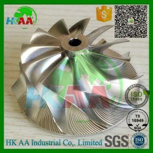 5-Axis CNC Machined Titanium Compressor Wheel Impeller pictures & photos