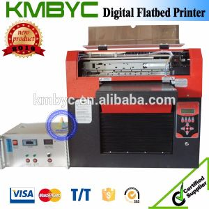 6 Colors Digital Flatbed UV USB Card Printer pictures & photos