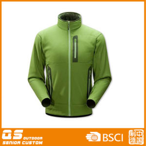 Lady′s Fashion Softshell with Taped Pocket Jacket pictures & photos
