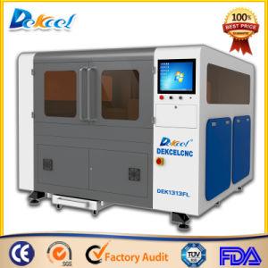 Fiber 300W/500W/750W CNC Metal Sheet Laser Cutter Machines China Factory Price Mini Dek-1010 pictures & photos