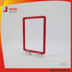Retail Pop Plastic Advertising A3a4a5a6 Supermarket Stand for Poster Display pictures & photos