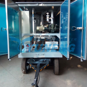 High Voltage Mobile Transformer Oil Filtration Plant with Ce ISO pictures & photos