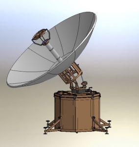2.4m Carbon Fiber Flyaway Satellite Antenna pictures & photos