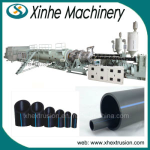 110-315mm Gas Supply Pipe Production Line PE / HDPE Pipes Extrusion Line /Plastic Extruder Machine