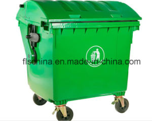 New Model of 1100LTR/1200LTR Plastic Dustbin 100% Virgin HDPE Material pictures & photos