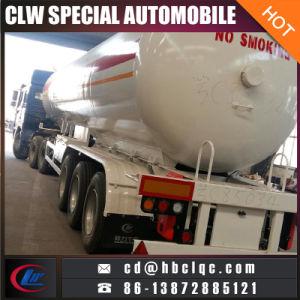 3axles 20mt 50000L LPG Trailer Tank Liquid Gas Tanker Semitrailer pictures & photos
