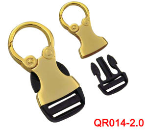 High Quality Metal Gold Plastic Release Buckles pictures & photos