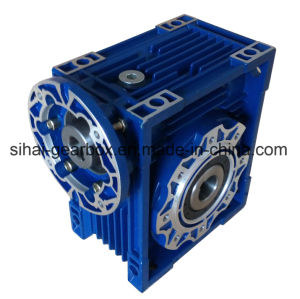 Small Input Flange Worm Gearbox Nmrv075 Speed Reducer pictures & photos