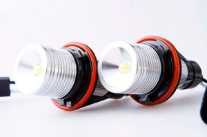 3W E39 LED Angel Eyes Headlights for BMW E39 E53 E60 E61 E63 E64 E65 E66 X5 with 6000k CREE LED Chip pictures & photos