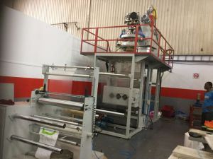 PP Water Cooling Film Blowing Machine pictures & photos
