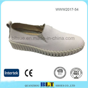 Wholesale Casual Slip on Flat Loafer Shoes for Women pictures & photos