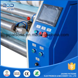 Automatic Shaft Exchange Stretch Film Slitting Rewinding Machine pictures & photos