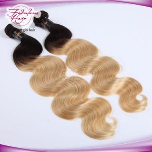 Wholesale 1b/613# Blonde Peruvian Virgin Hair 100% Human Hair pictures & photos