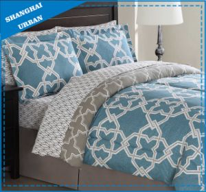 Turquoise Modern Pattern Design Cotton Printed Duvet Cover Bed Linen pictures & photos